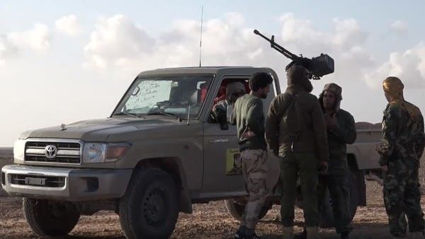 الجيش الليبي يستدرج ميليشيات مصراتة ويقصفها بأبوقرين
