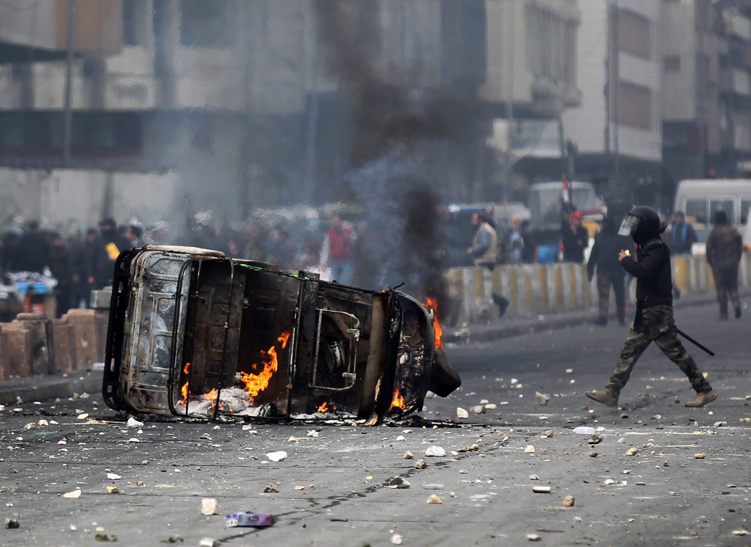 من بغداد يوم 29 يناير (فرانس برس)