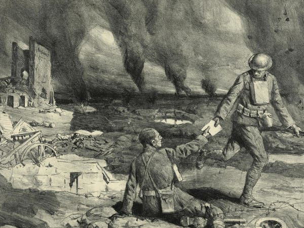 """""""العدّاء"""".. هكذا ظهرت أصعب مهمة بالحرب العالمية الأولى"""