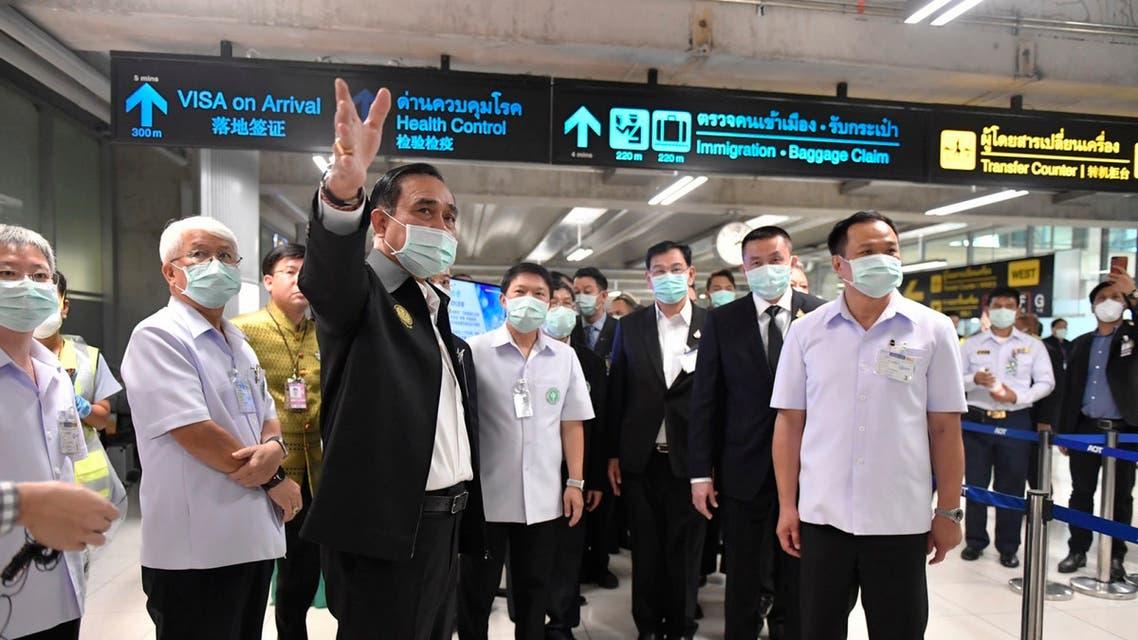 اجراءات مشددة في مطار بانكوك بسبب كورونا