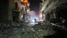 مقتل 10 مدنيين في إدلب.. وروسيا تنفي استهداف مستشفى