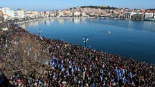 Greece wants floating fence to keep migrants out