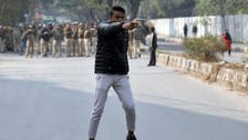 One wounded in shooting at Delhi protest against citizenship law