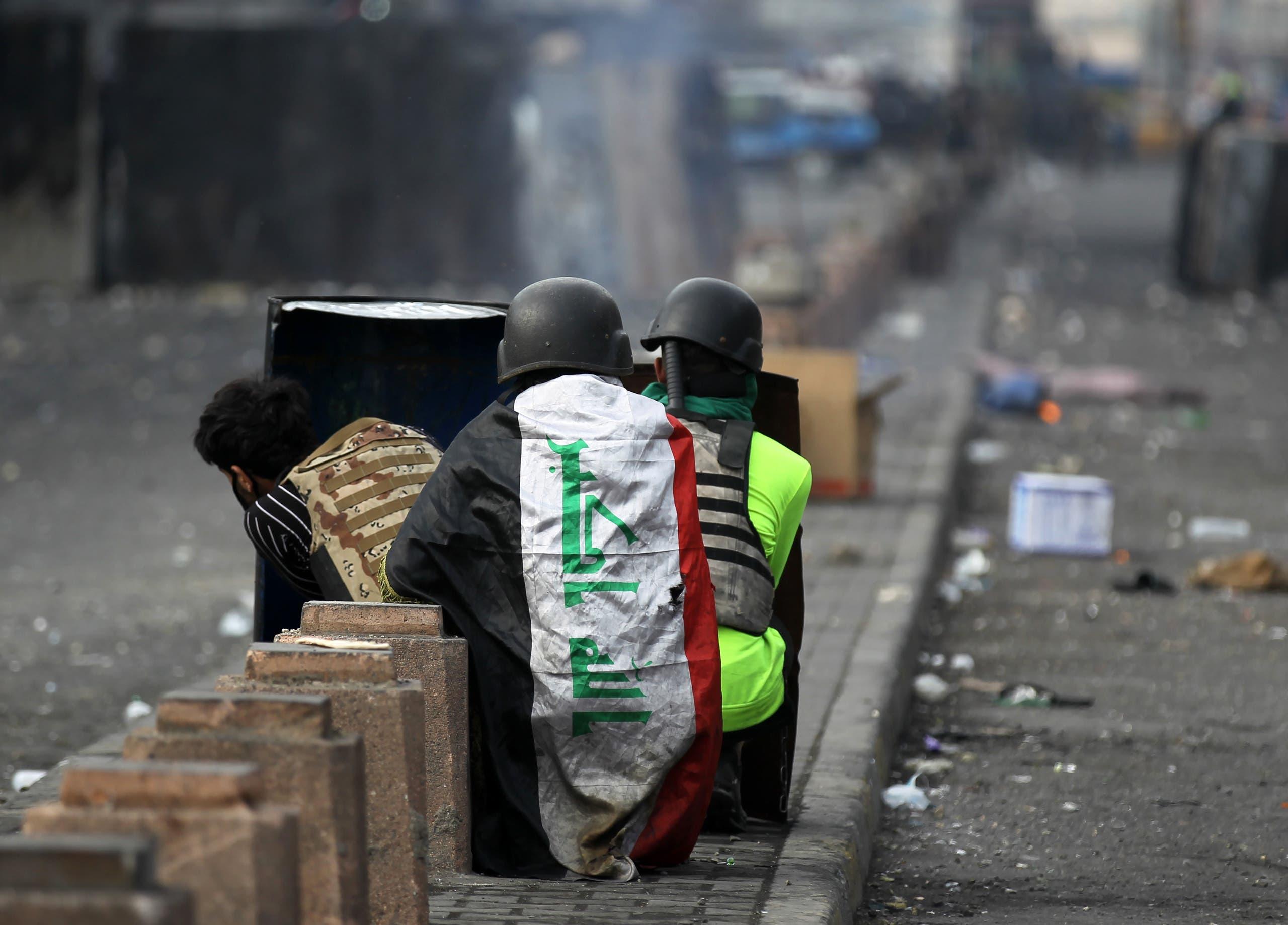 من وسط بغداد (29 يناير 2020- فرانس برس)