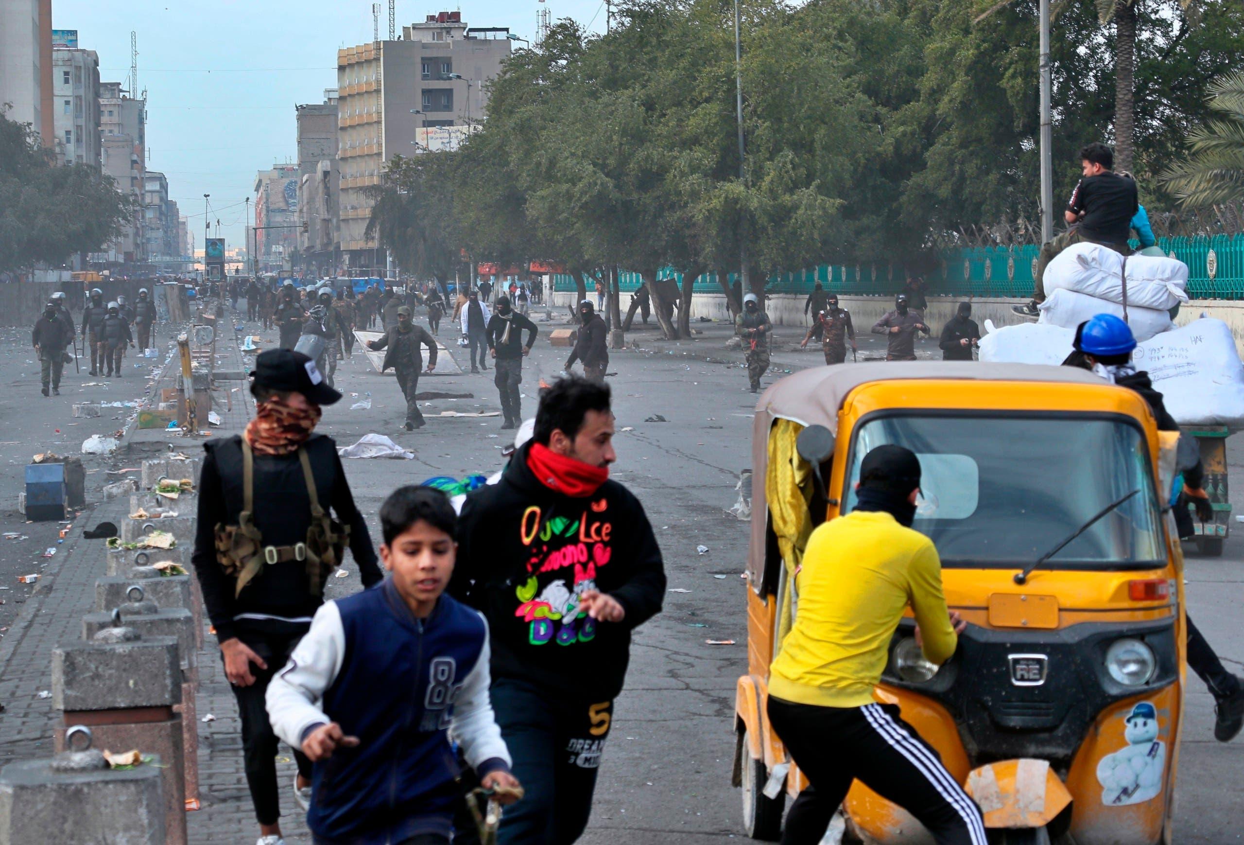 من بغداد يوم 29 يناير (أسوشيتد برس)