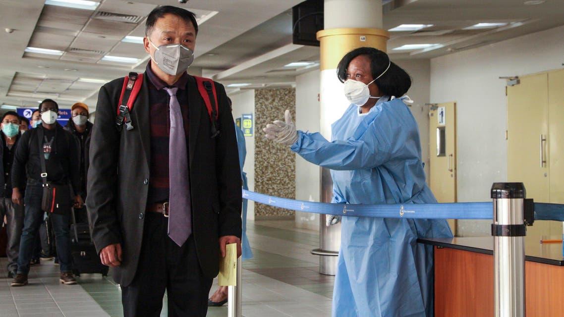 احتياطات في الصين بسبب كورونا - اسوشيتد برس