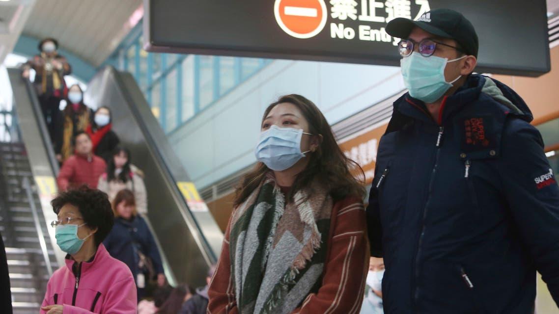 بعد تفشي كورونا احتياطات السلامة في تايوان - اسوشيتد برس