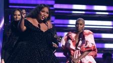 Lizzo honors Kobe, celebrates Grammys at pre-Super Bowl show