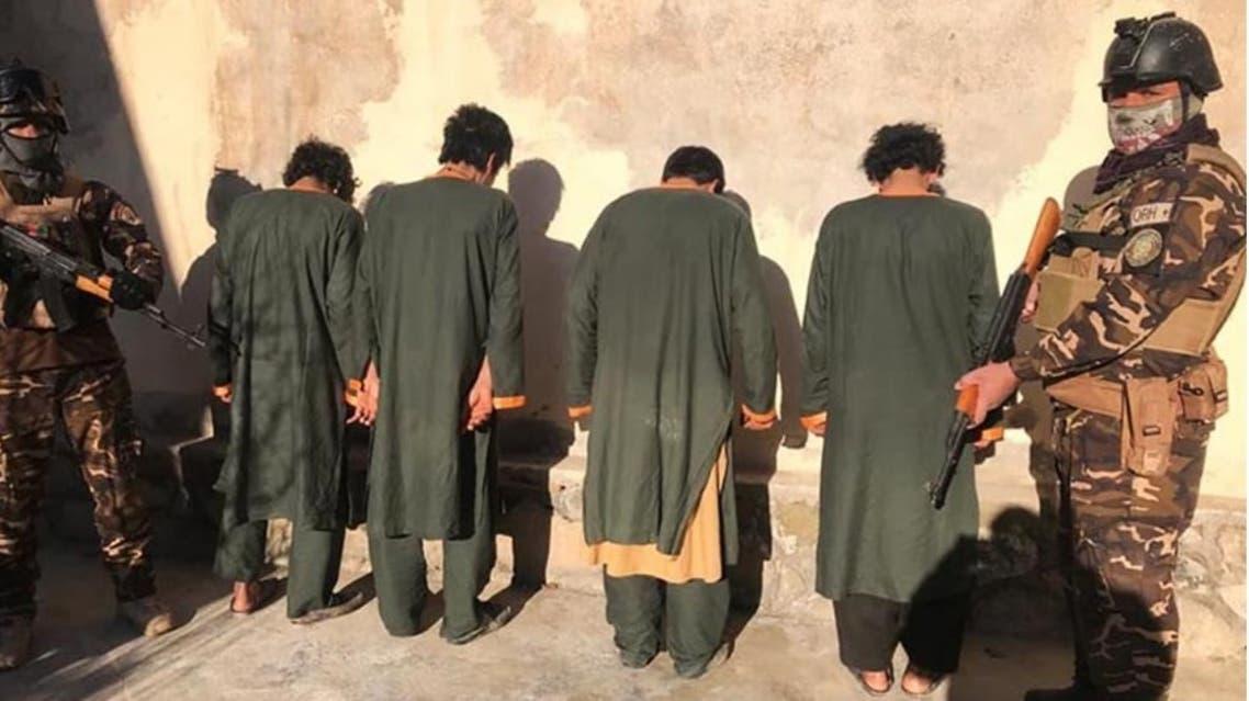 12 تن به متهم به جرایم سازمانیافته و «تروریستی» در هرات افغانستان بازداشت شدند