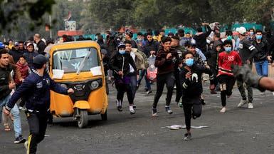 متظاهرو العراق يطالبون بحماية أممية والصدر يهدد بالتصعيد