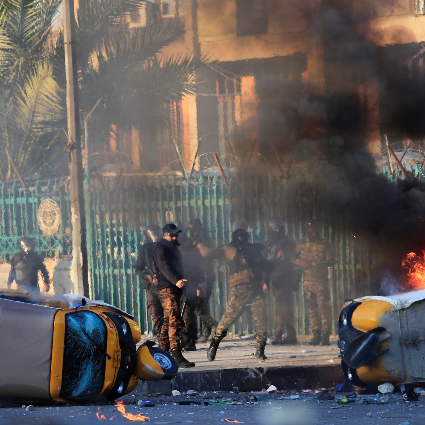 أميركا تطالب بغداد بخطوات جادة لحماية المتظاهرين