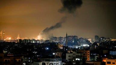 غارات إسرائيلية على غزة بعد رصد صاروخين من القطاع