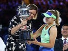 كينن تتوج بلقب بطولة أستراليا المفتوحة بفوزها على موغوروزا