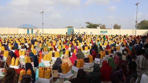 مركز الملك سلمان يقدم المساعدات لقرى كسمايو في الصومال