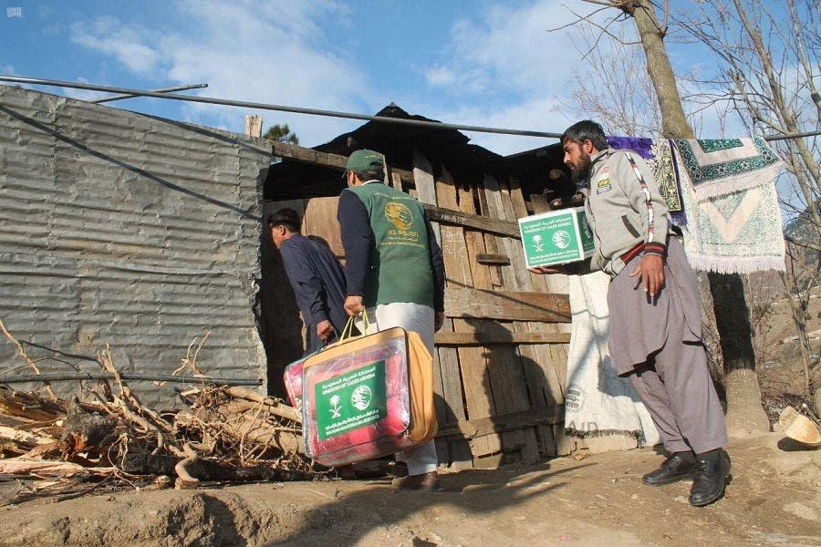 من مساعدات مركز الملك سلمان للإغاثة