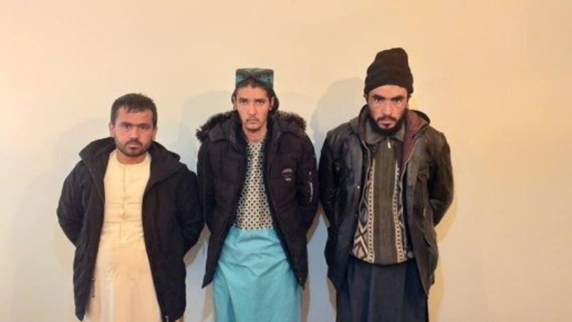 یک فرمانده و دو عضو استخبارات طالبان در ولایت فاریاب افغانستان دستگیر شدند