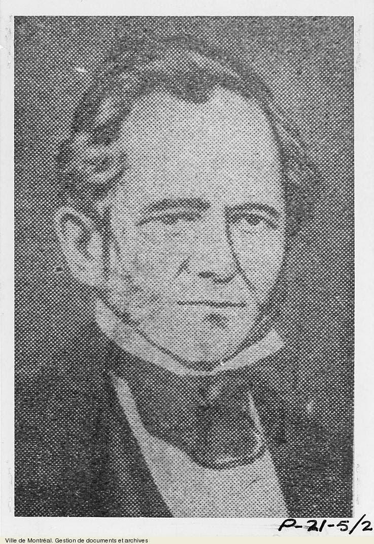 صورة لعمدة مونتريال جون إيستون ميلز