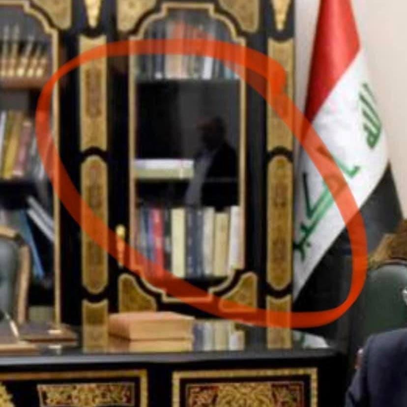 صورة تغضب عراقيين.. ماذا يفعل