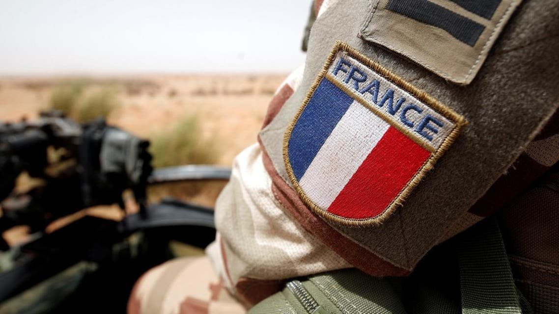 A close-up of a France's flag patch worn by French troops in Africa's Sahel region as part of the anti-insurgent Operation Barkhane in Inaloglog, Mali, October 17, 2017. (File photo: Reuters)