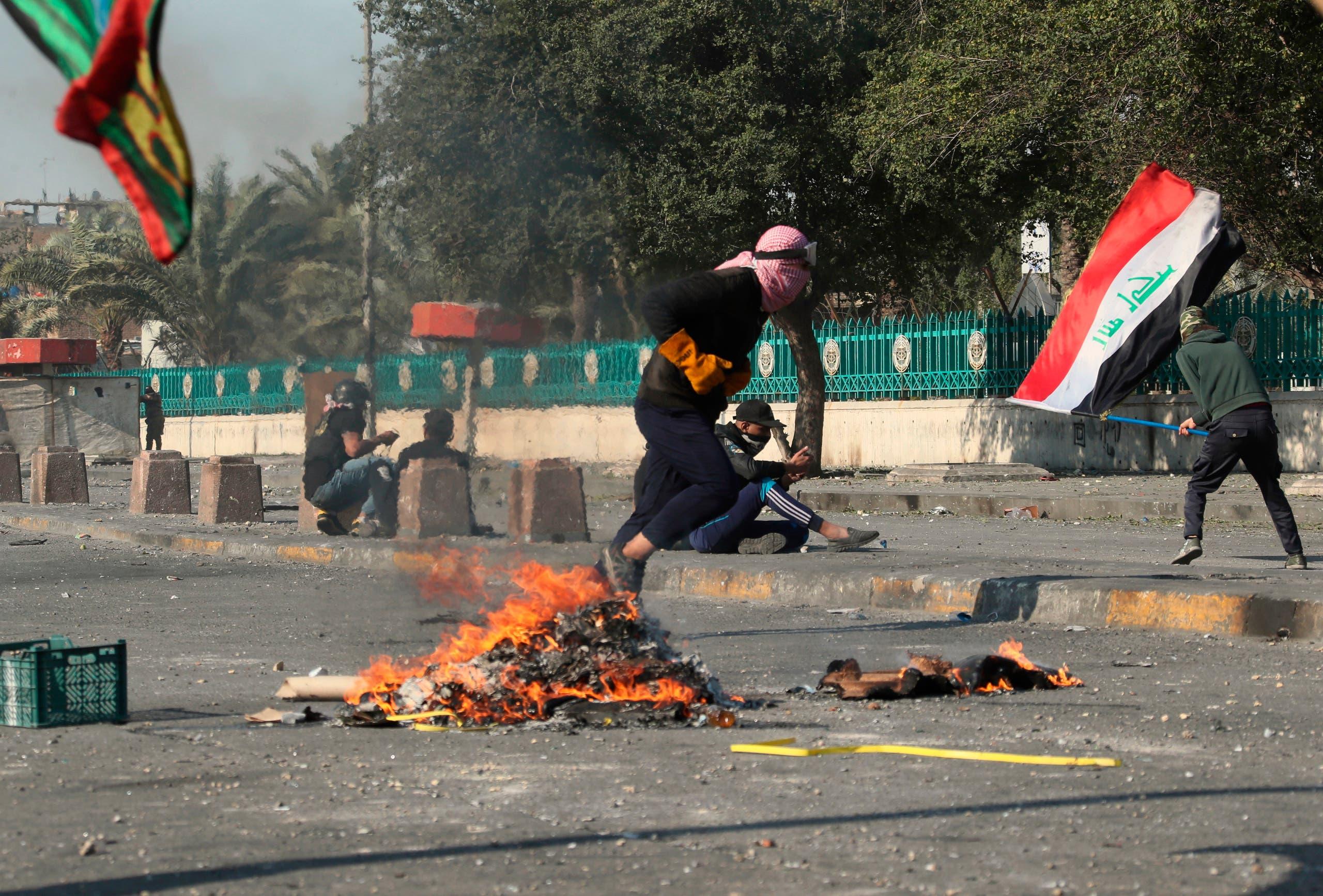 من بغداد 31 يناير - اسوشيتد برس