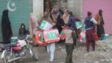 شاہ سلمان ریلیف سینٹر کی طرف سے پاکستان اور صومالیہ میں امدادی سامان تقسیم