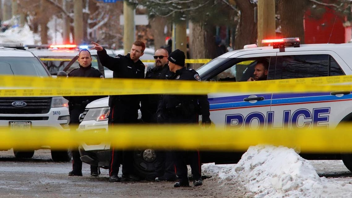 Police investigate a shooting incident in Ottawa, Ontario, Canada January 8, 2020. (File photo: Reuters)