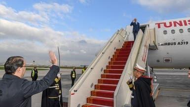 رئيس تونس في أول زيارة خارجية إلى الجزائر