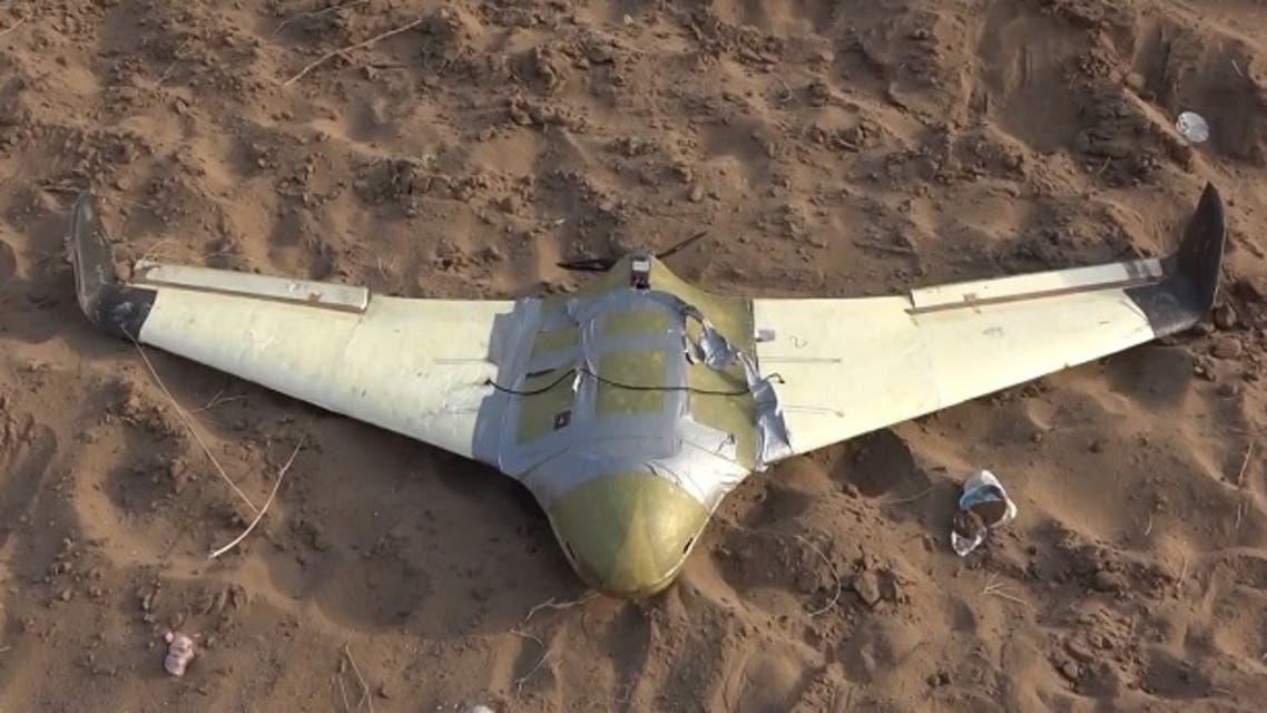 طائرة مسيرة حوثية