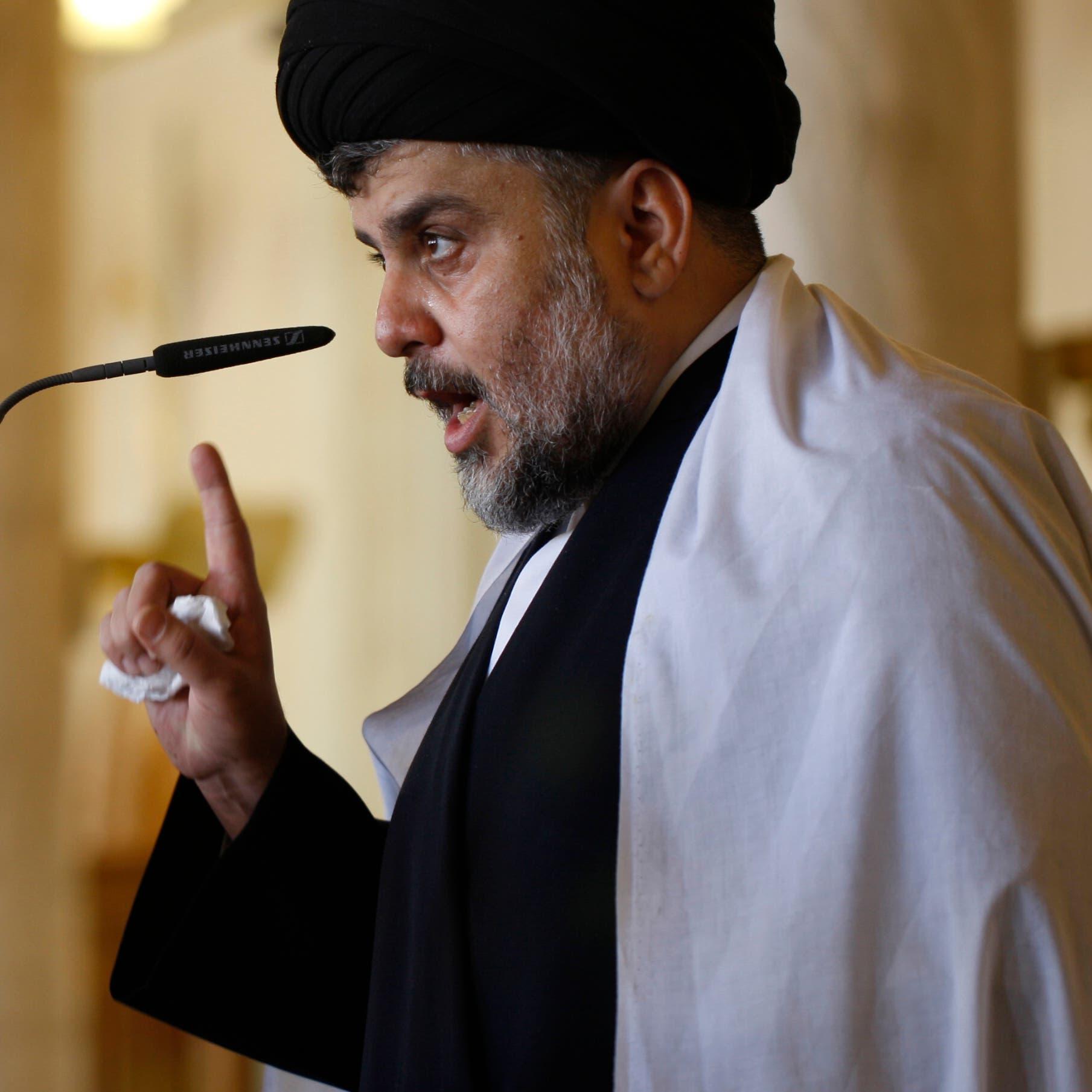 العراق.. الصدر يلوّح بالشارع إذا لم يقر تشكيل الحكومة