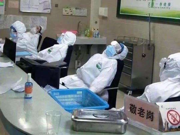 بسبب كورونا.. شاهد الصينيين يصافحون بطريقة راغب علامة