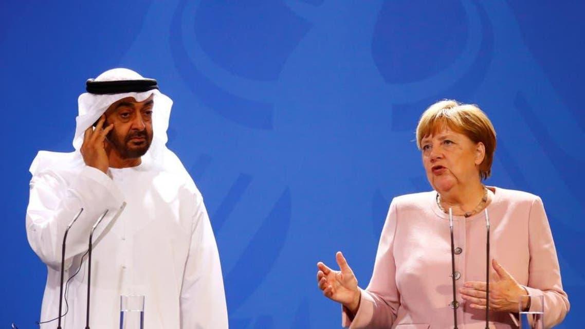 Muhammad Bin Zaid and Angela Merkle