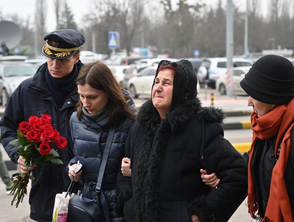 Families of Ukrainian victims - AFP