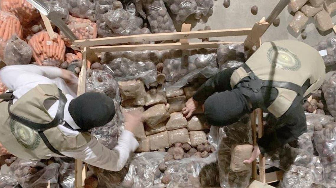 تهريب مخدرات للسعودية