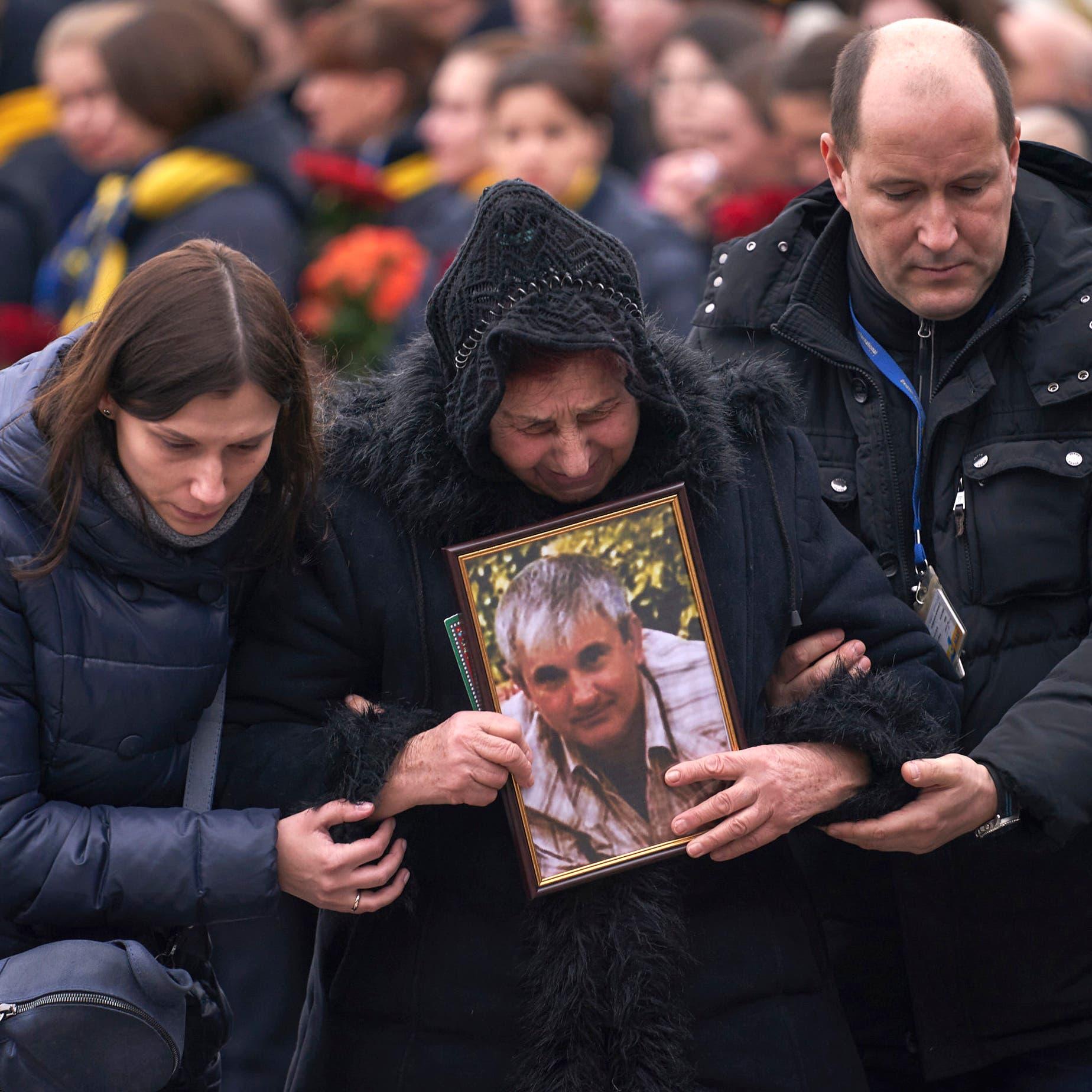 أمهات ضحايا الأوكرانية: أولادنا جثث وقائد سلاح الجو حر