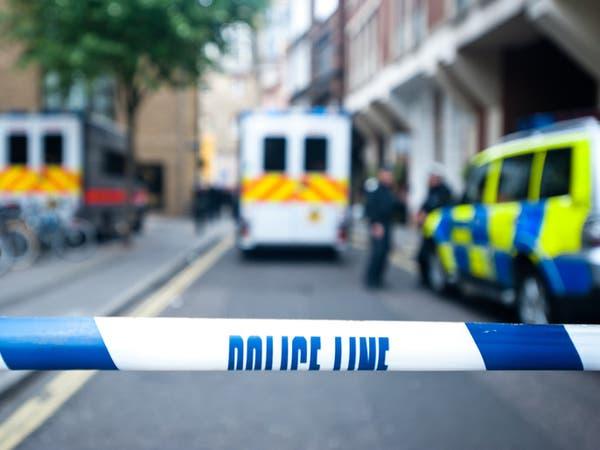 الشرطة البريطانية تغلق شارعاً رئيسياً وسط لندن