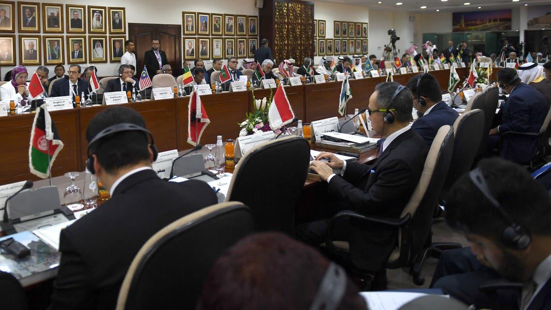 من اجتماع منظمة التعاون الإسلامي في جدة