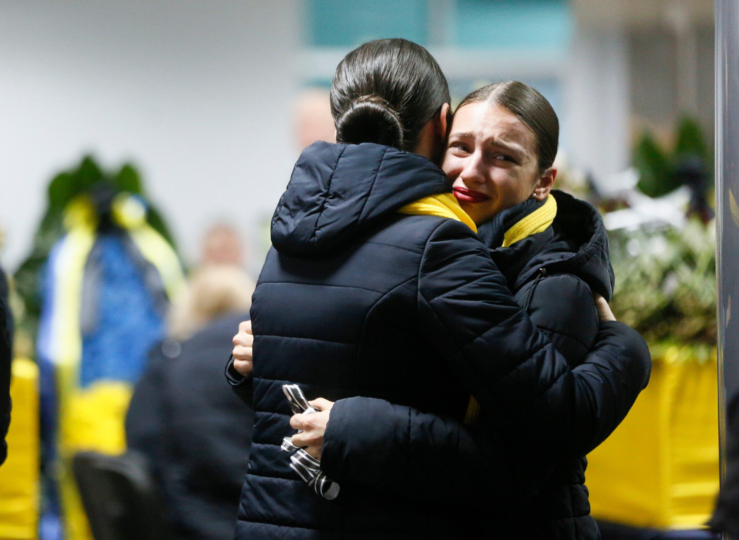 أهالي ضحايا الأوكرانية - اسوشيتد برس
