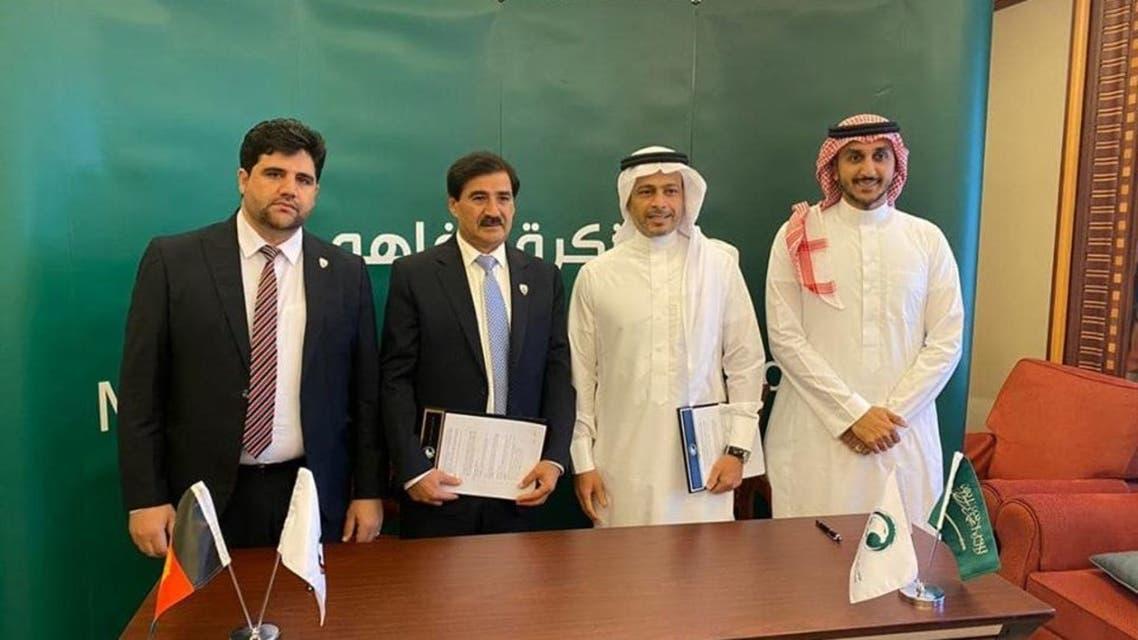 فدراسیونهای فوتبال سعودی و افغانستان تفاهمنامه همکاری امضا کردند