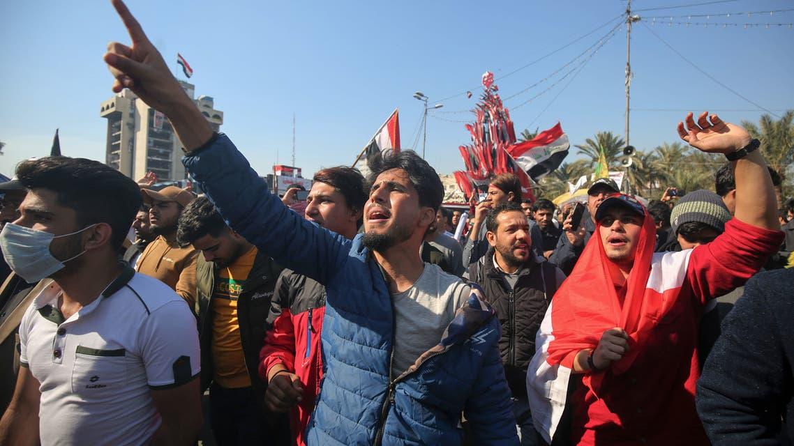 من وسط بغداد 04 فبراير - فرانس برس)