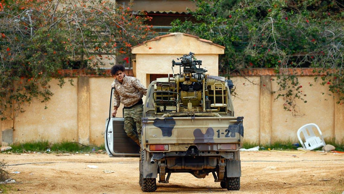 ىالية تابعة لفصائل الوفاق في العاصمة الليبية طرابلس (أرشيفية0- فرانس برس)