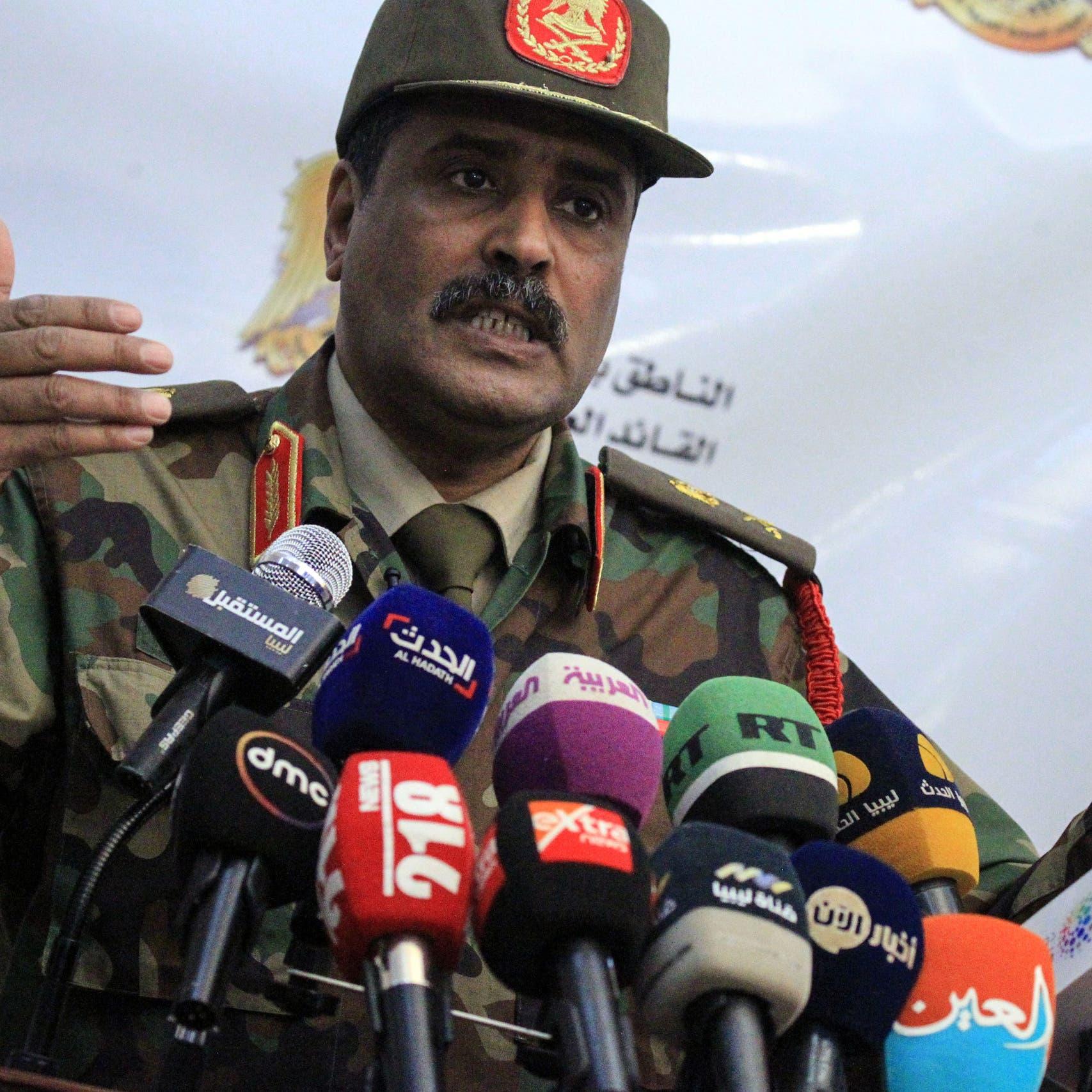 المسماري: رصدنا مناورة حربية تركية بإقليم طرابلس البحري