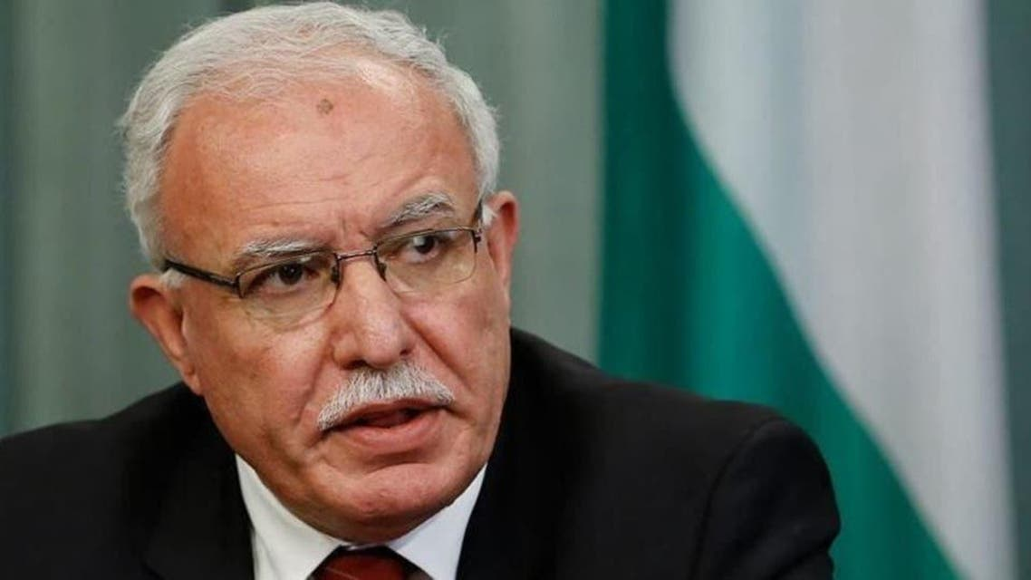 Palestinian foreign Minister Riyadh Almalaki