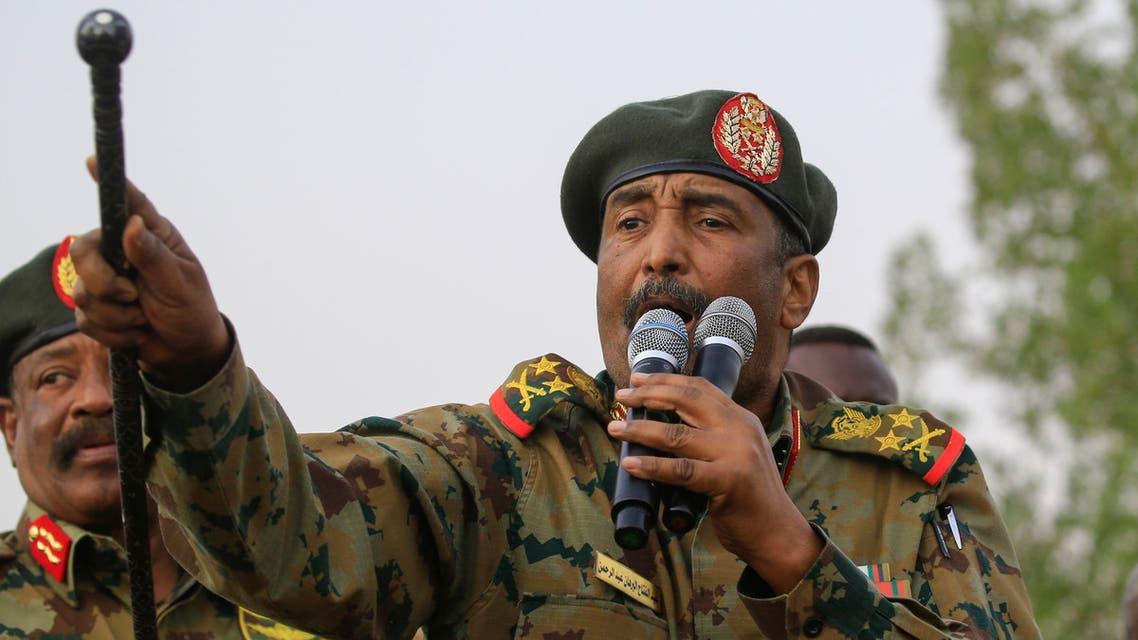 عبد الفتاح البرهان (أرشيفية- فرانس برس)
