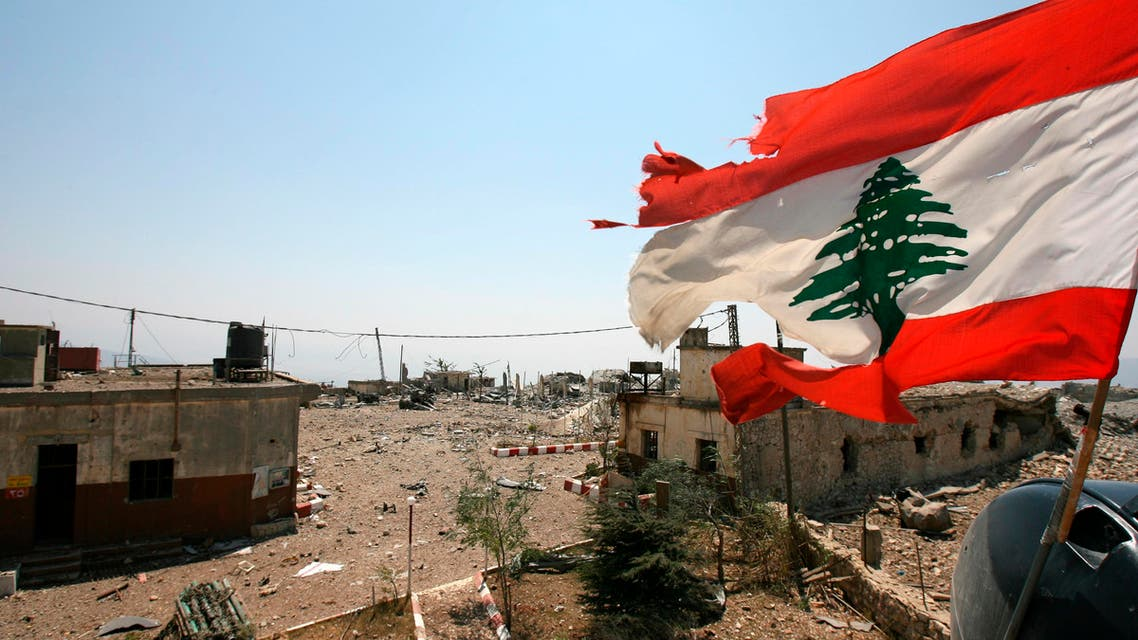 A Lebanese flag flies over Khiam prison on Aug. 16, 2006. (File photo: AP)