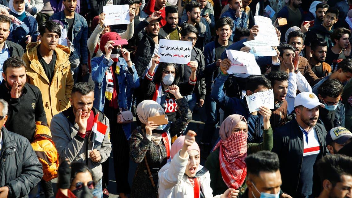 من وسط بغداد 04 فبراير - رويترز)