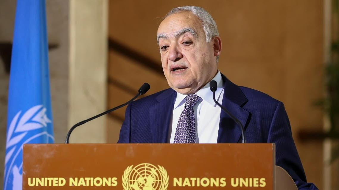 UN Envoy for Libya, Ghassan Salame holds a news briefing ahead of UN-brokered military talks in Geneva, Switzerland, February 4, 2020. (Photo: Reuters)