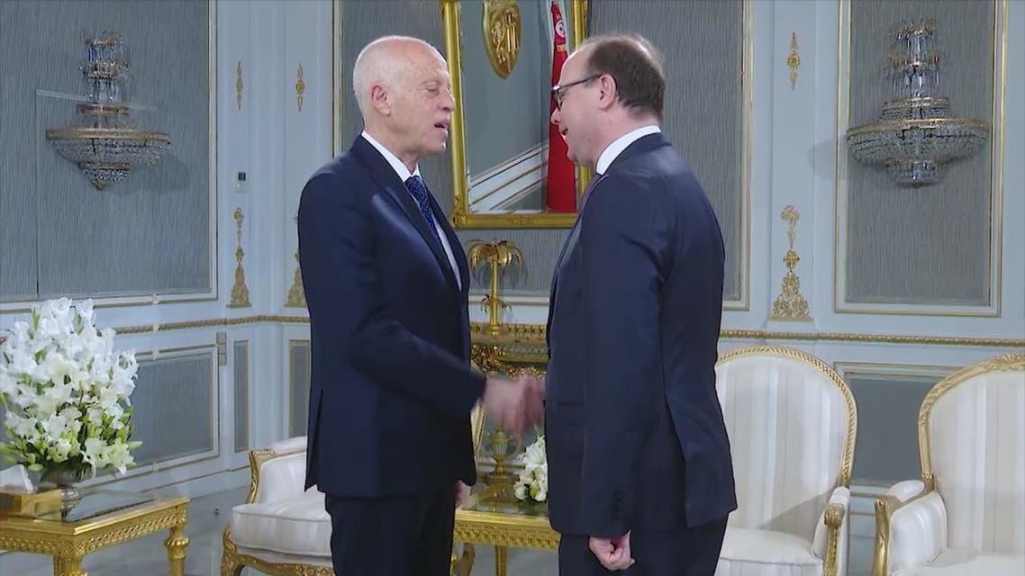 الفخفاخ يلتقي الرئيس التونسي لإبلاغه بمطالب الأحزاب