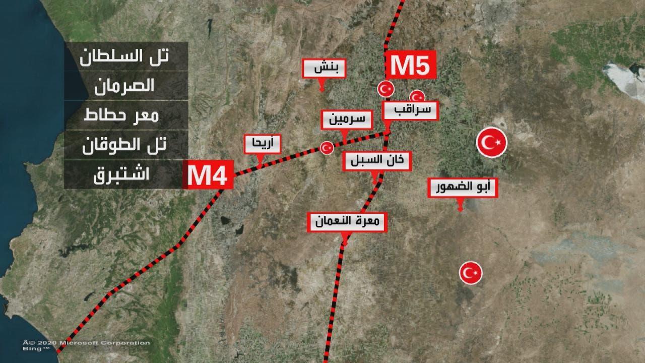نقاط المراقبة التركية في إدلب (أرشيفية)