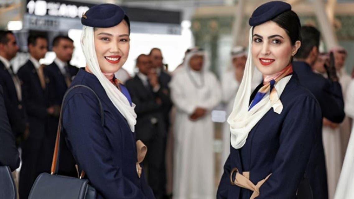 Saudia cabin crew's new uniform -1 (Supplied)