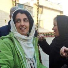 الناشطة نرجس محمدي تدعو من سجنها لمقاطعة انتخابات إيران